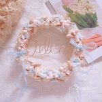 Wreath  ***bobbin pastel Welcome