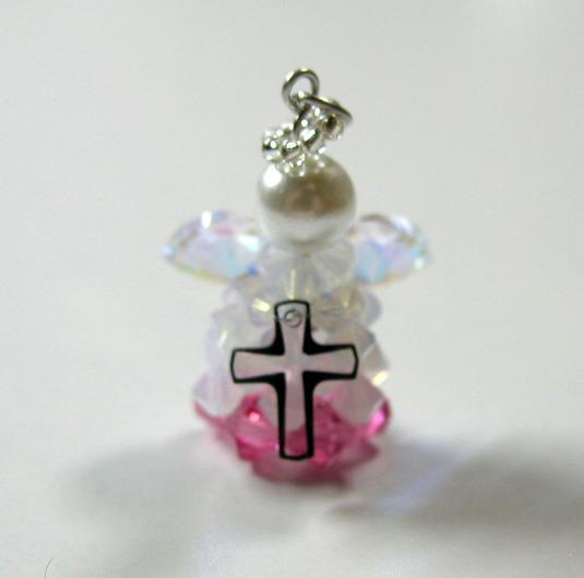 エンゼル 天使 ピンク スワロ 天使の羽根 クリスマス