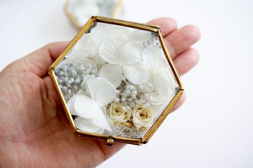 花のリングピロー:blanc épisode_L