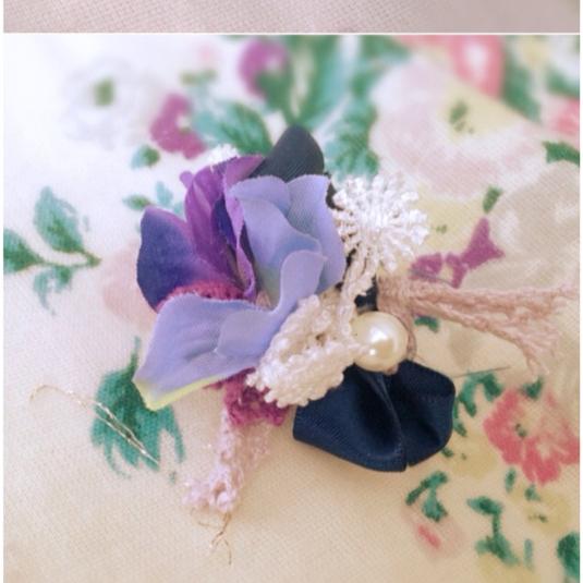 花束のリング  青