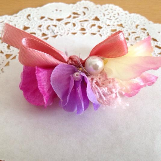 花束のリング  桃色