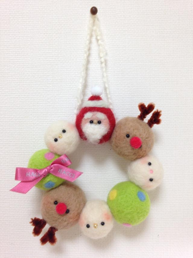 【★再販★】まんまるクリスマスリース*...