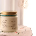 soy candle   WHITE TEA
