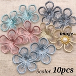 春パーツ♡【sntn3810chmm】【5color 10pct】lace flour parts