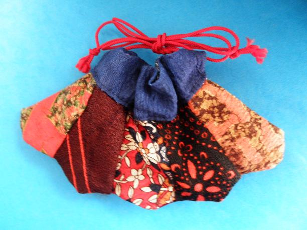 秋色スカート巾着