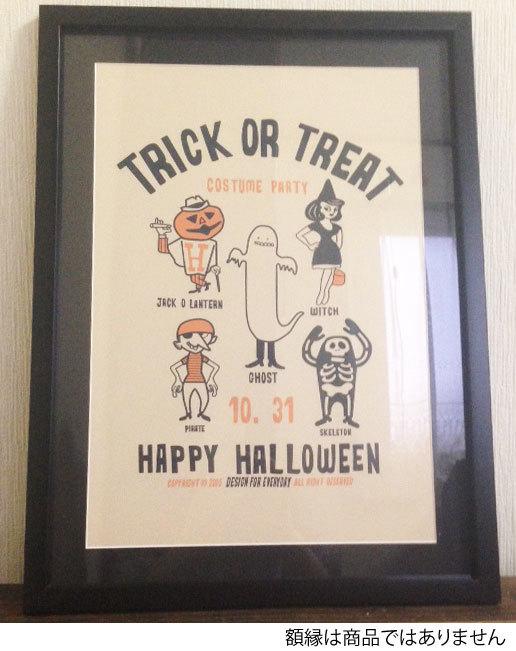 TRICK OR TREAT ポスター/プリント A3サイズ