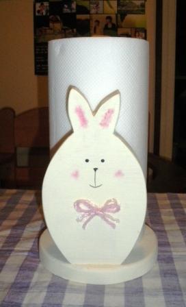 キッチンペーパーホルダー ウサギ2