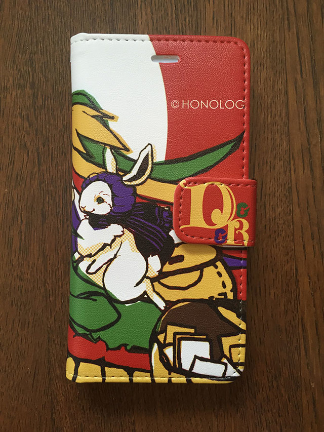 手帳型iPhone6ケース Dragon & Rabbit Post