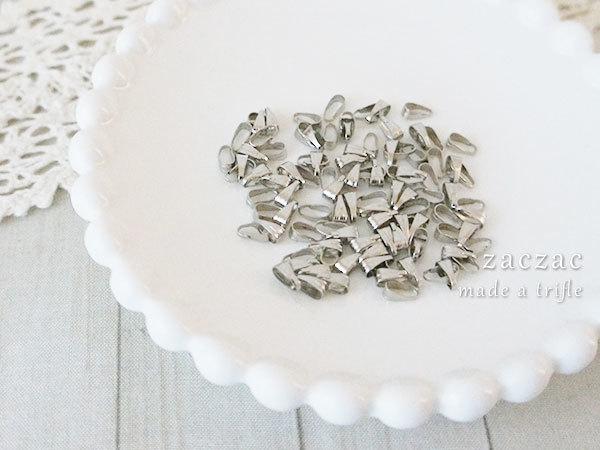 【販売終了】バチカン約100個*ニッケル*銀メッキ