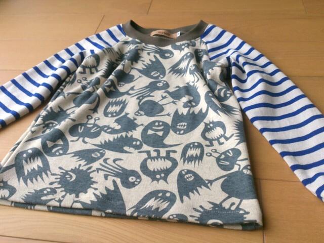 モンスターのラグランTシャツ size100