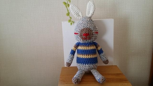 おそろいウサギ(青)∞夏ver.∞