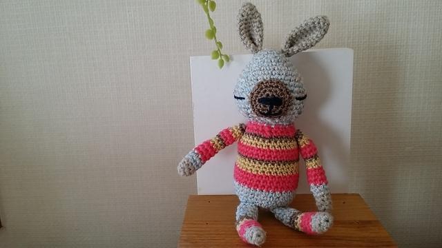 おそろいウサギ(ピンク)∞夏ver.∞