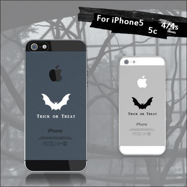 Trick or treat〜羽ばたくコウモリケース◆Halloween♪:iPhone7★iPhone各種選択可能♪iPhoneケース スマホケース