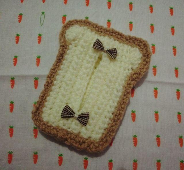 食パンあみあみティッシュケース