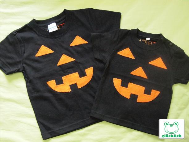 【B様オーダー品】ハロウィンTシャツ2点/90・110サイズ