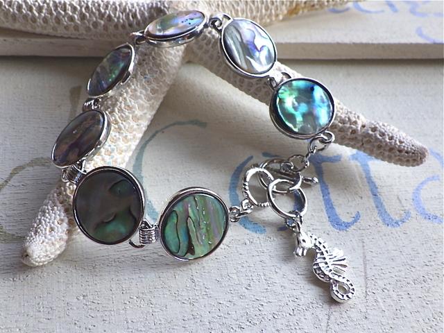 Paua Shell Ocean Bracelet