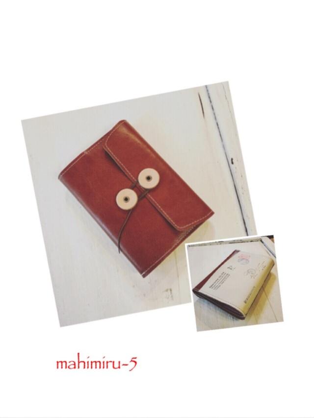 封筒システム手帳カバー