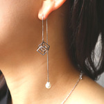 hanging square pierce SL