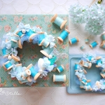 Wreath ***bobbin mermaid mini