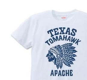 ネイティブ・アメリカン XS(女性XS〜S) Tシャツ 【受注生産品】