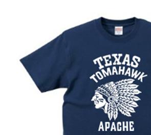 ネイティブ・アメリカン XS〜XL Tシャツ【受注生産品】