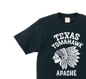 【再販】ネイティブ・アメリカン XS〜XL Tシャツ【受注生産品】