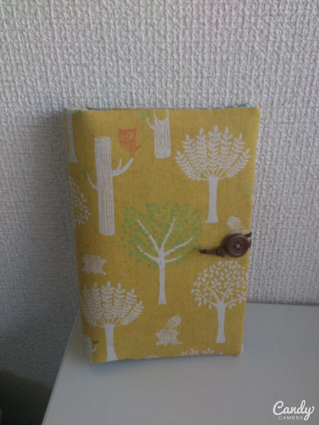 黄色い森子手帳・通帳ケース