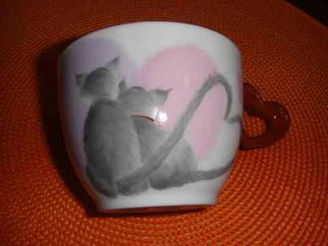 キャットマグカップ