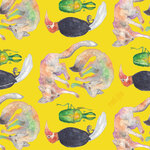 Indian animals -Wrapping paper