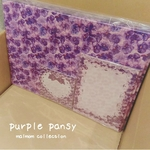 purple pansy Set  ⚠️【受注予約品】