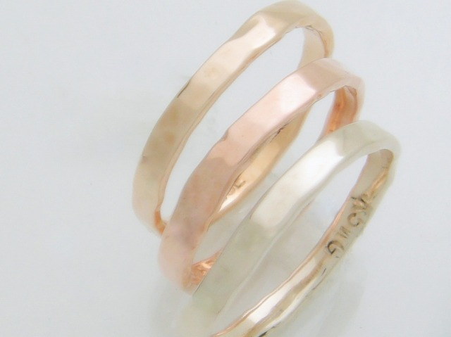 3ColorGold Ring