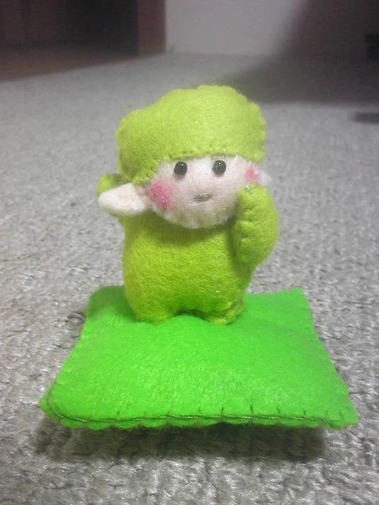 干支人形(未)