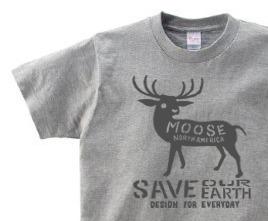 【再販】moose WS〜WM?S〜XL Tシャツ【受注生産品】