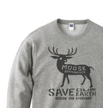 【再販】moose トレーナー【受注生産品】