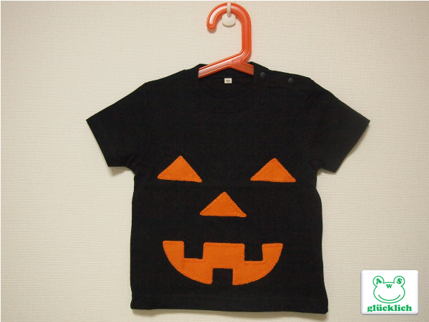 【C様オーダー品】ハロウィンTシャツ/90サイズ