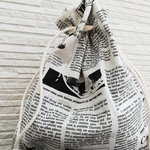 Newspaper bag 【W】