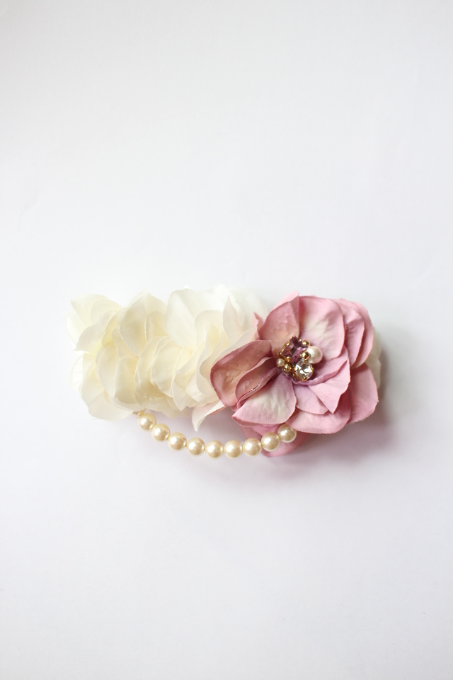 flower*barrette #111