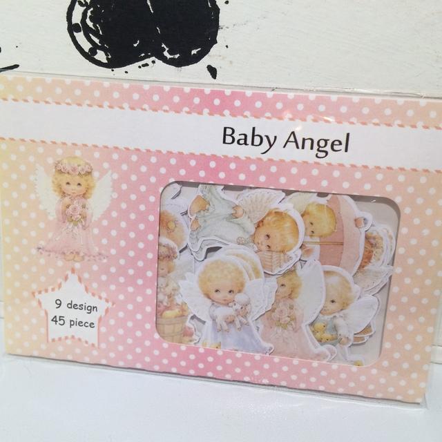 Baby Angelフレークシール