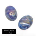 2個入 Germany import cabochon(Malertropfen)