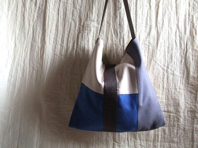 itoiro bag (blue & purple gray)