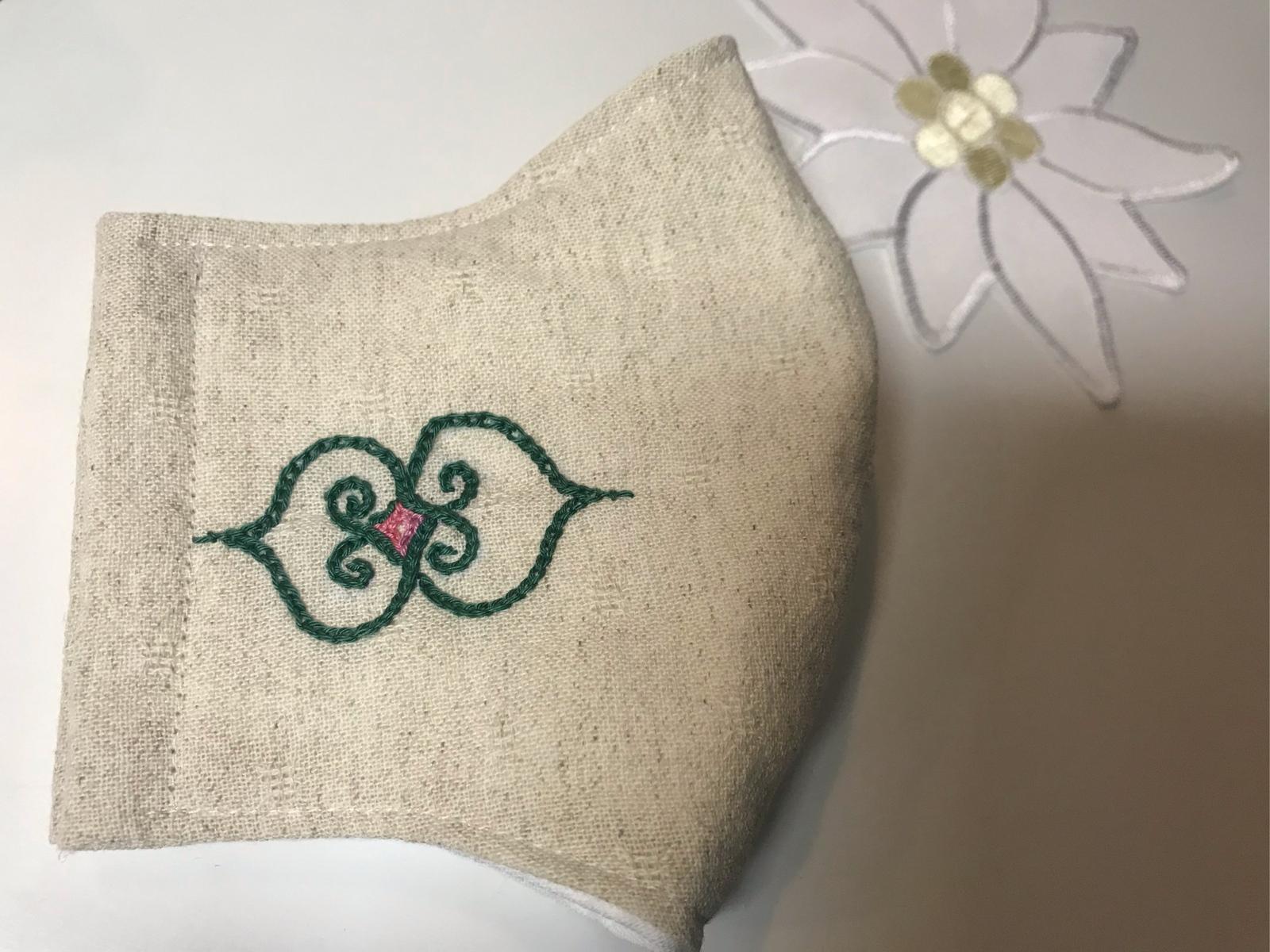 マスク アイヌ 刺繍