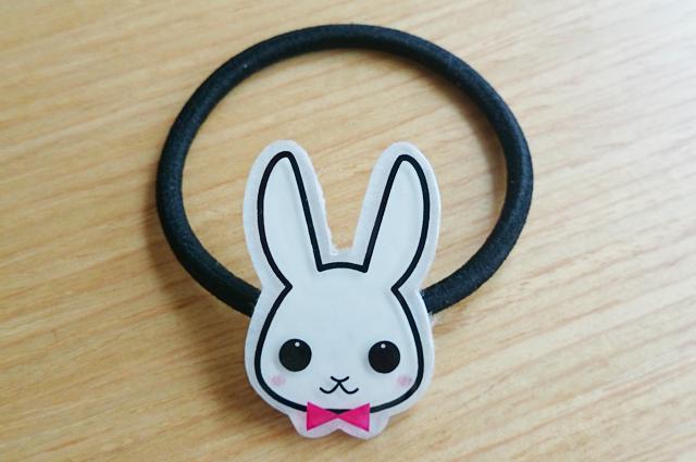 ★ウサギ★ヘアゴム