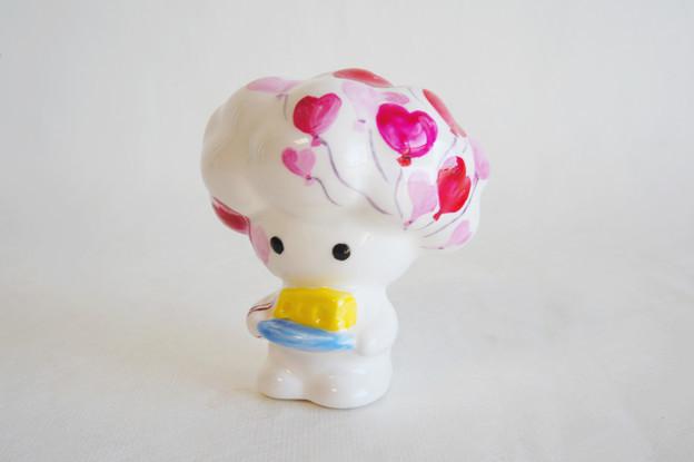 PINKバルーンチーズ天使