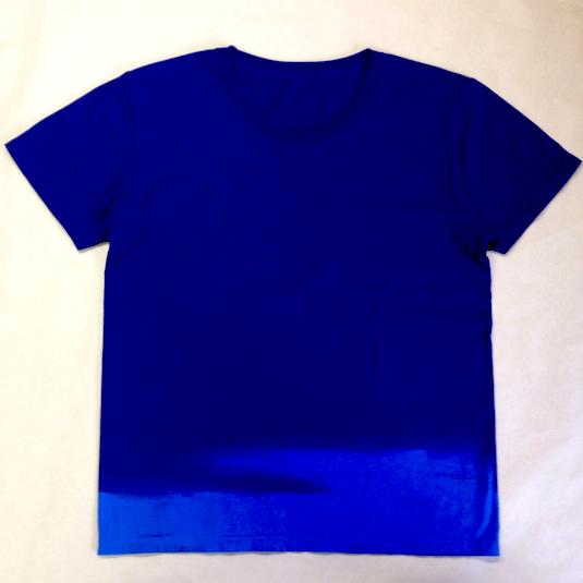 sea wave 手染めTシャツ