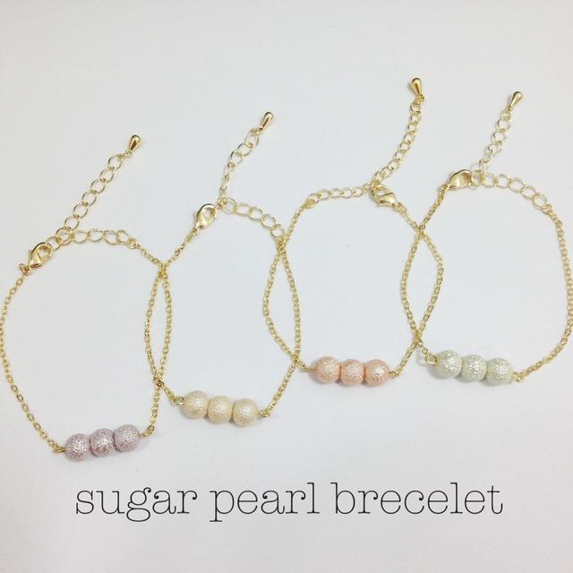 sugar pearl brecelet.