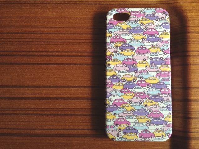 *sale!!*1点のみ*iPhone5/5s*cars*ピンク系*リバティ*カバー*スマホケース