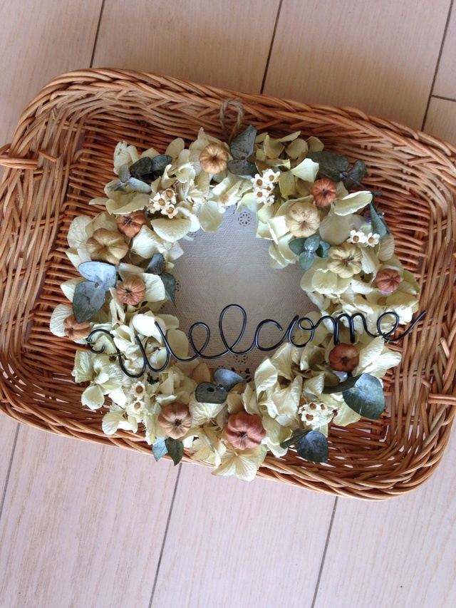 【sold】プッカポッドのwelcome wreath