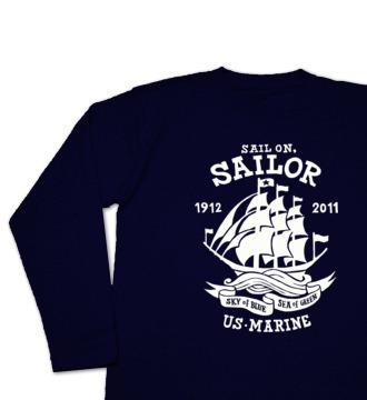 Sail On,Sailo 長袖Tシャツ【受注生産品】