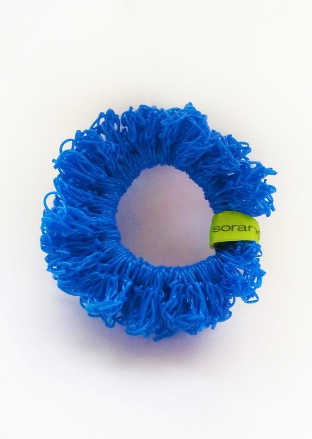 juicy nylon シュシュ blue