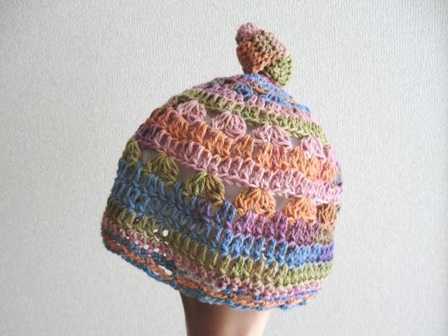 ★ご予約品★ ベビーのカラフルニット帽子44?
